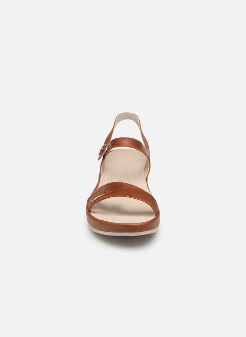 Sandales et nu-pieds TBS Lorette Marron vue portées chaussures