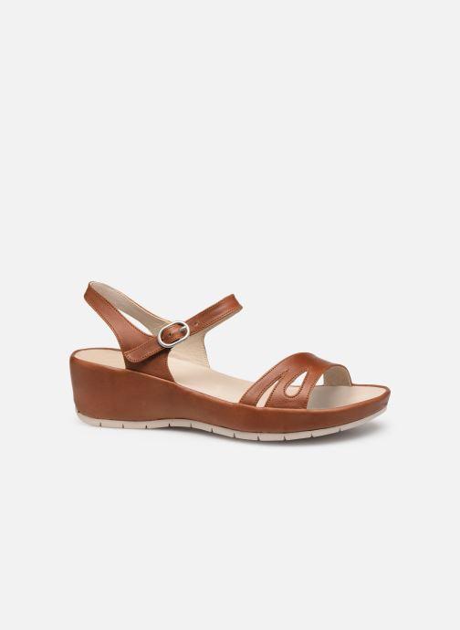Sandales et nu-pieds TBS Lorette Marron vue derrière