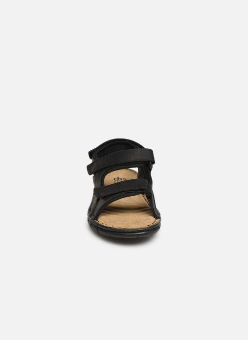 Sandales et nu-pieds TBS Strapss Noir vue portées chaussures