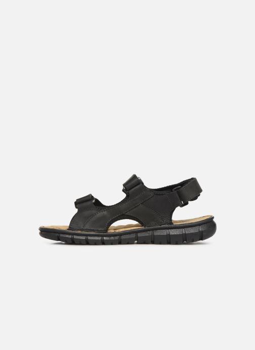 Sandales et nu-pieds TBS Strapss Noir vue face