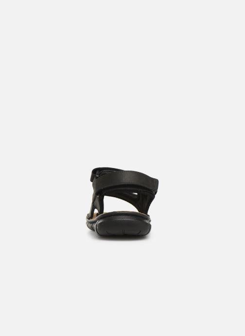 Sandales et nu-pieds TBS Strapss Noir vue droite