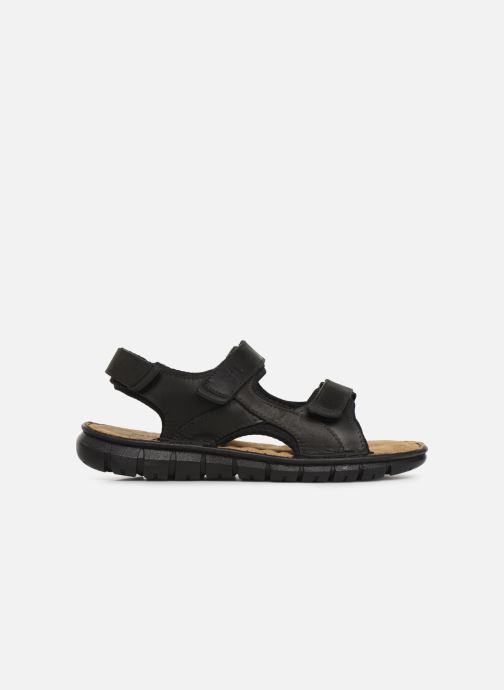 Sandales et nu-pieds TBS Strapss Noir vue derrière