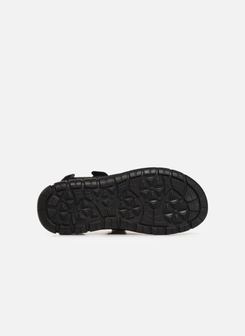 Sandales et nu-pieds TBS Strapss Noir vue haut