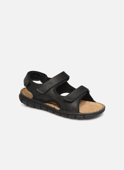 Sandales et nu-pieds TBS Strapss Noir vue détail/paire