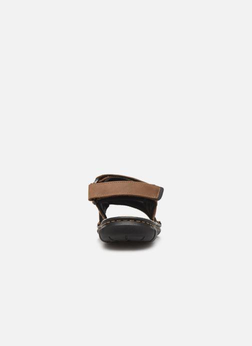 Sandalen TBS Strapss braun ansicht von rechts