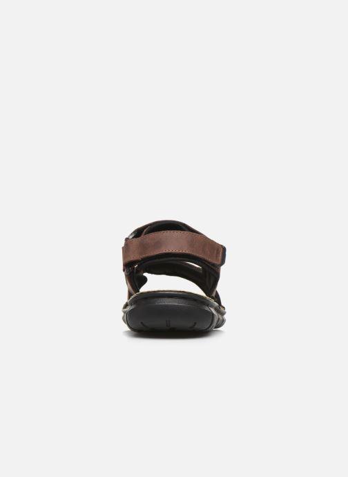 Sandali e scarpe aperte TBS Strapss Marrone immagine destra