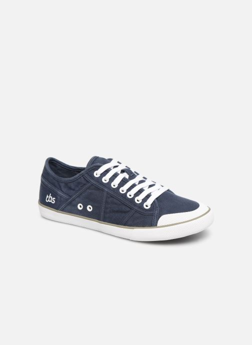 Trainers TBS Violay--R7072 Blue detailed view/ Pair view