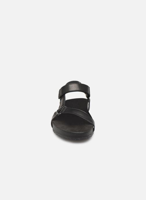 Sandales et nu-pieds TBS Badgers Noir vue portées chaussures