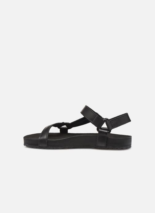 Sandales et nu-pieds TBS Badgers Noir vue face