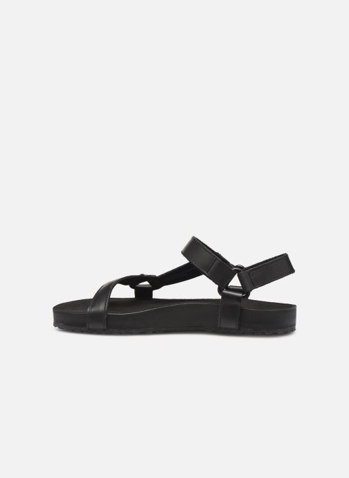 Sandalias TBS Badgers Negro vista de frente