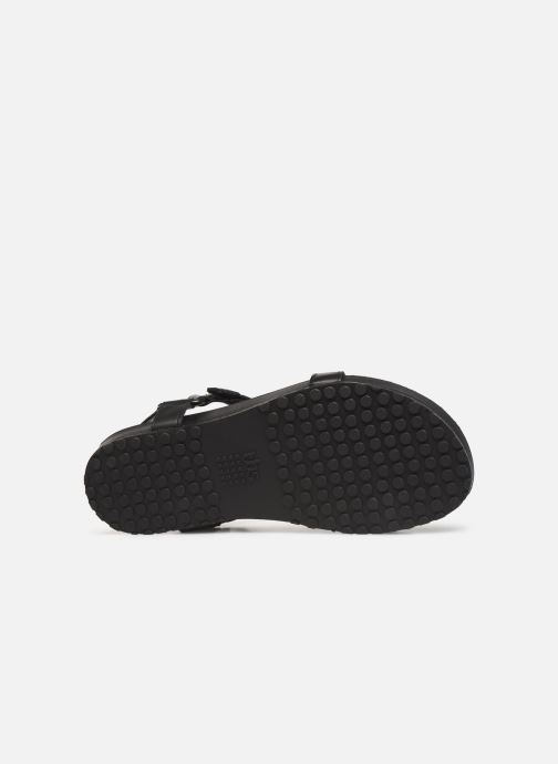 Sandales et nu-pieds TBS Badgers Noir vue haut
