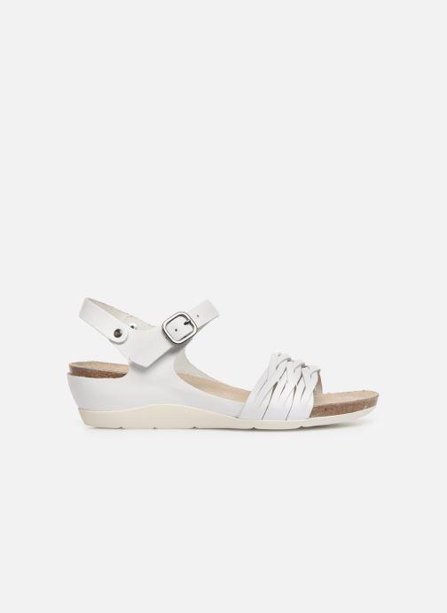 Sandales et nu-pieds TBS Mojarra Blanc vue derrière