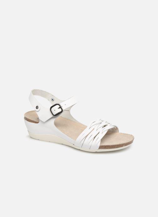 Sandales et nu-pieds TBS Mojarra Blanc vue détail/paire