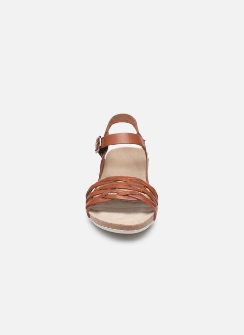 Sandales et nu-pieds TBS Mojarra Marron vue portées chaussures
