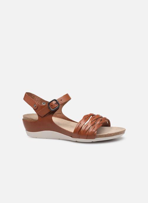 Sandales et nu-pieds TBS Mojarra Marron vue derrière