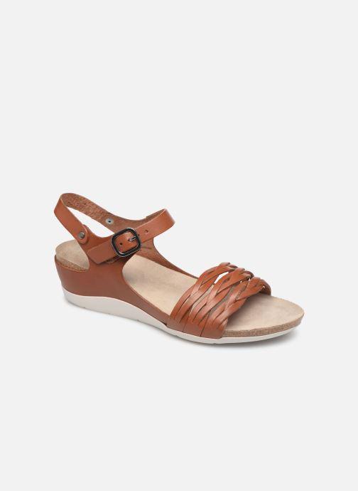 Sandales et nu-pieds TBS Mojarra Marron vue détail/paire