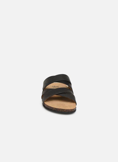 Sandales et nu-pieds TBS Saxonns Noir vue portées chaussures
