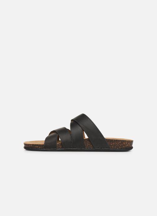 Sandales et nu-pieds TBS Saxonns Noir vue face