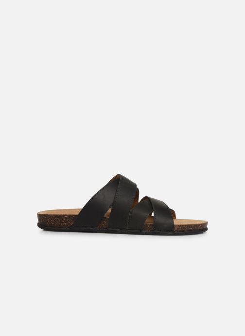 Sandalen TBS Saxonns schwarz ansicht von hinten