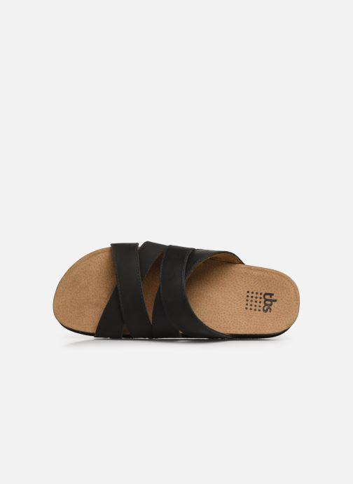 Sandales et nu-pieds TBS Saxonns Noir vue gauche