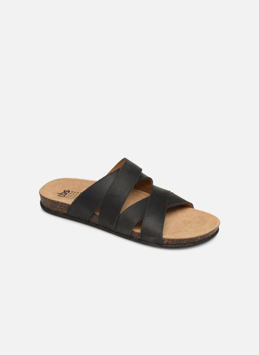 Sandales et nu-pieds TBS Saxonns Noir vue détail/paire