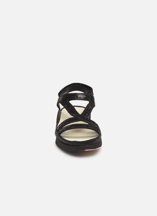 Sandali e scarpe aperte TBS Valkiri Nero modello indossato