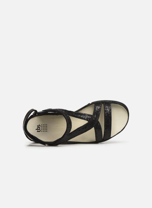 Sandali e scarpe aperte TBS Valkiri Nero immagine sinistra