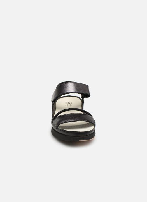 Sandalias TBS Vitalys--I7004 Negro vista del modelo