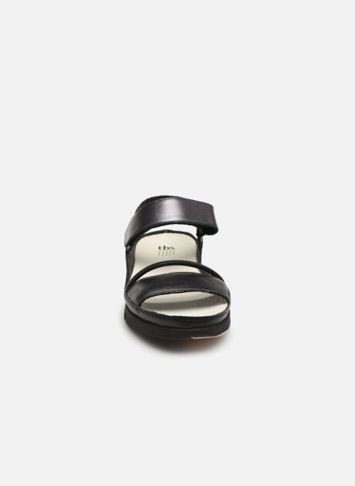 Sandales et nu-pieds TBS Vitalys--I7004 Noir vue portées chaussures