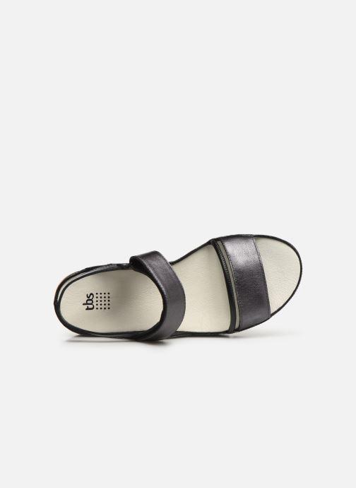 Sandales et nu-pieds TBS Vitalys--I7004 Noir vue gauche