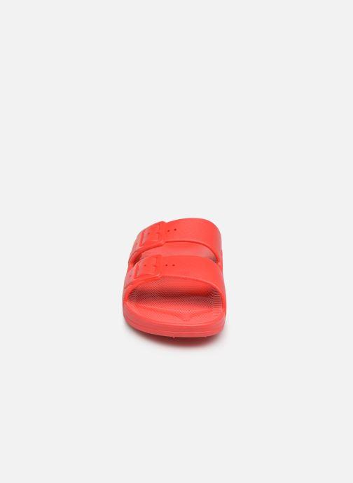 Clogs & Pantoletten Freedom Moses Basic W rot schuhe getragen