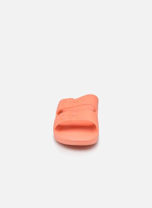 Mules et sabots MOSES Basic W Orange vue portées chaussures