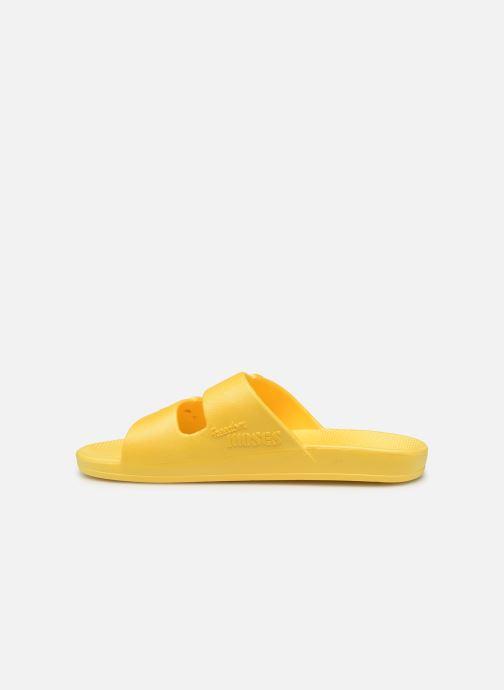 Clogs & Pantoletten MOSES Basic W gelb ansicht von vorne