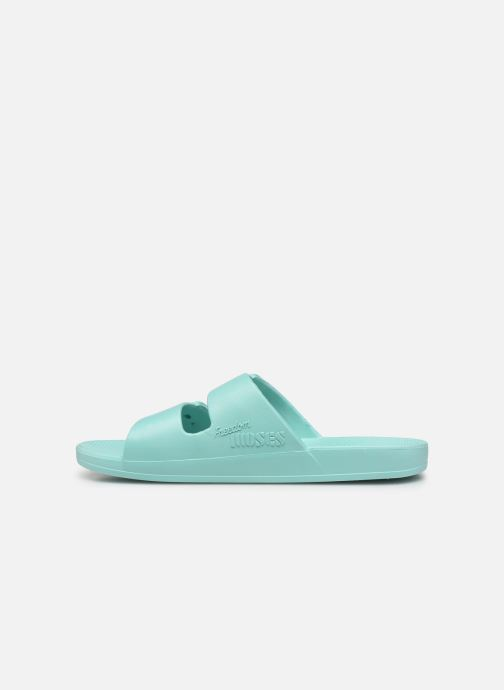 Mules & clogs MOSES Basic W Blue front view
