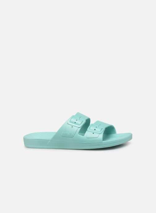 Mules & clogs MOSES Basic W Blue back view