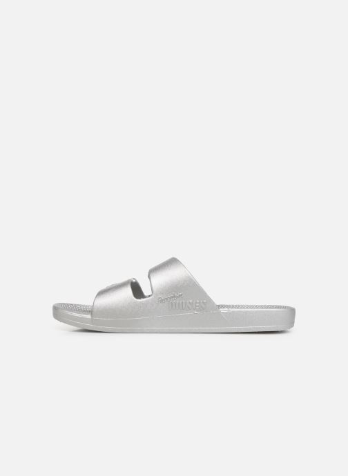 Mules & clogs MOSES Metallic W Silver front view