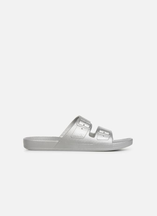 Mules & clogs MOSES Metallic W Silver back view