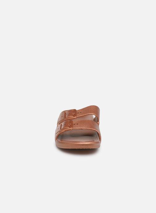 Mules et sabots MOSES Metallic W Or et bronze vue portées chaussures