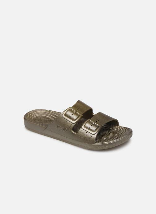 Clogs & Pantoletten Damen Metallic W