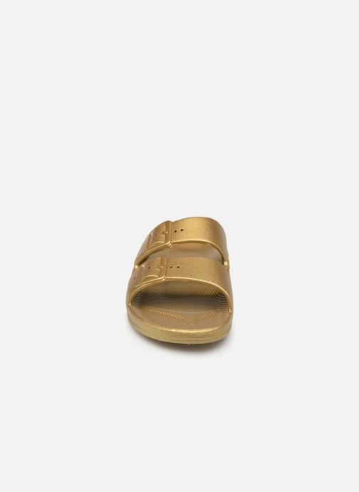 Zuecos MOSES Metallic W Oro y bronce vista del modelo