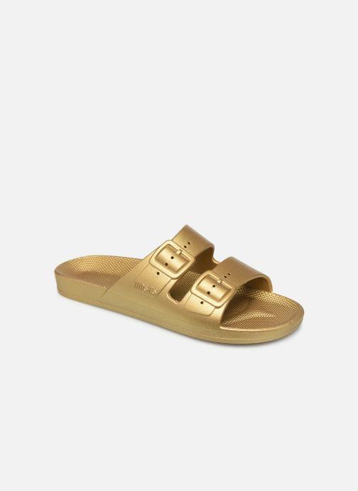 Zuecos MOSES Metallic W Oro y bronce vista de detalle / par