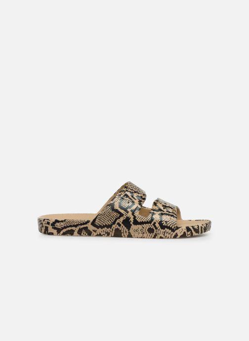 Wedges MOSES Cobra W Beige achterkant