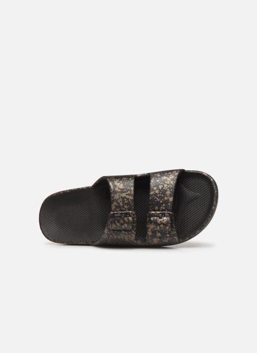 Mules & clogs MOSES Splatter W Black view from the left