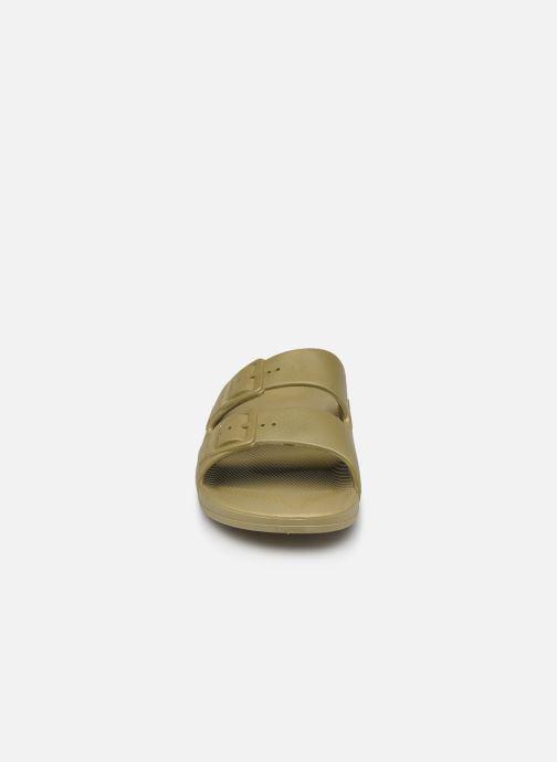 Sandalen MOSES Basic M grün schuhe getragen