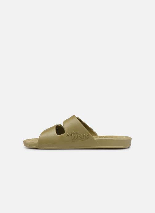 Sandales et nu-pieds MOSES Basic M Vert vue face