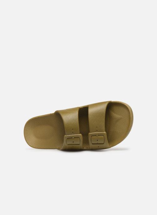 Sandales et nu-pieds MOSES Basic M Vert vue gauche
