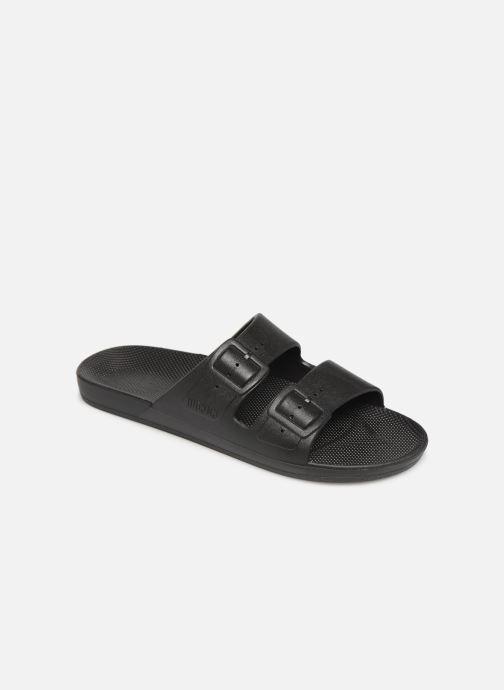 Sandales et nu-pieds Freedom Moses Basic M Noir vue détail/paire