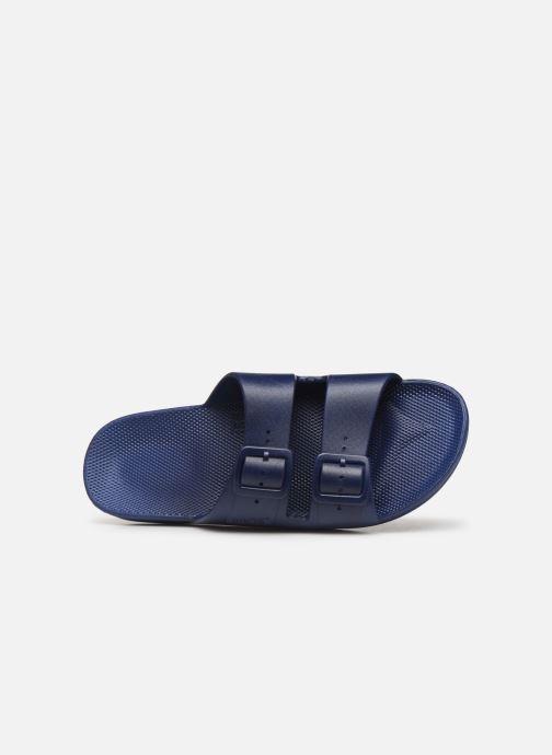Sandales et nu-pieds MOSES Basic M Bleu vue gauche