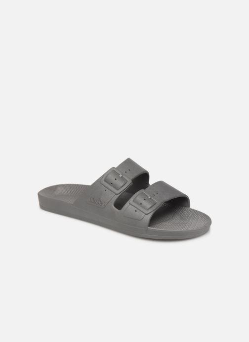 Sandales et nu-pieds MOSES Basic M Gris vue détail/paire