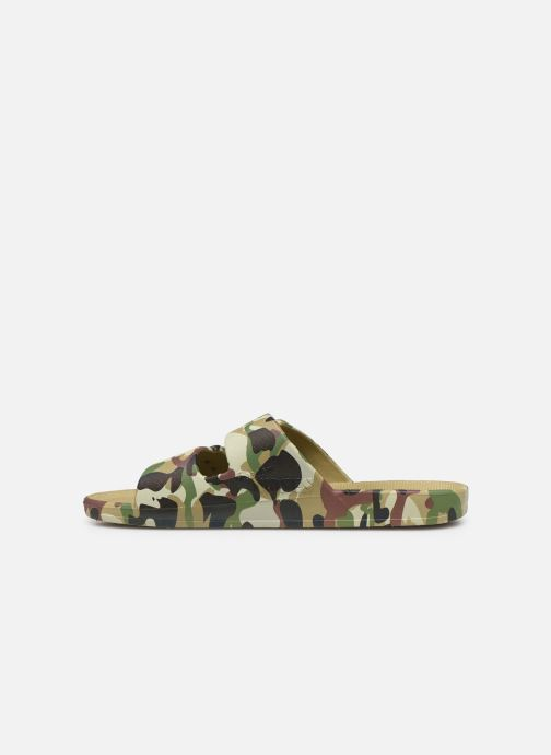 Sandales et nu-pieds MOSES Army M Vert vue face
